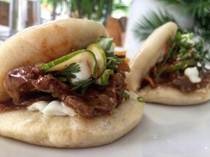 Homemade beef Bao